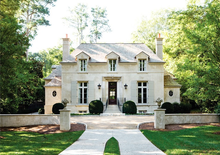 Beautiful House Exteriors French Chateau Home Exterior Atlanta Homes Lifestyles On Excellent Maids Of Honor