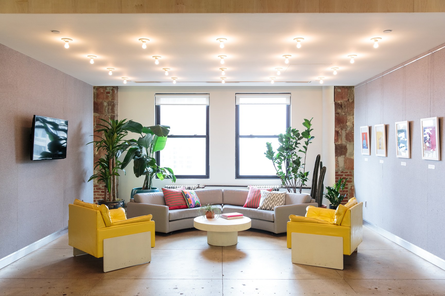 Designer Office Spaces In New York And San Francisco  Photos Architectural Digest_architecture Office Spaces_architecture_architectural Design Magazine   ...